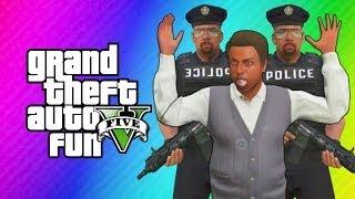 getlinkyoutube.com-GTA 5 Online - Robbing Spree! (GTA 5 Funny Moments, Skits, & Challenge)