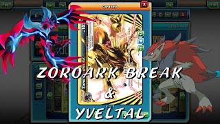 Zoroark BREAK & Yveltal Deck! Pokemon Trading Card Game Online!