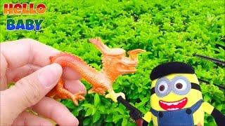 getlinkyoutube.com-Săn Tìm đồ chơi với Minion - Thú đồ chơi (Tap19) Hello BABY !!!
