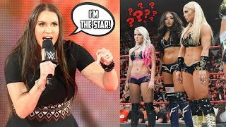 IS STEPHANIE McMAHON STEALING THE SPOTLIGHT TOO MUCH? (WWE RAW)