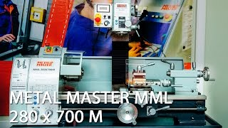 getlinkyoutube.com-Настольный токарно фрезерный станок Metal Master MML 280X700 M