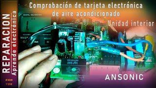 getlinkyoutube.com-Comprobación de tarjeta electronica de aire acondicionado