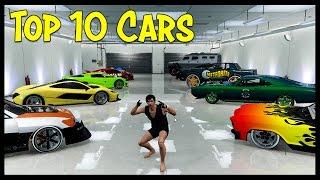 Top 10 Cars in GTA Online!