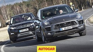 getlinkyoutube.com-Porsche Macan vs Range Rover Evoque - one of these is the best small SUV in the world