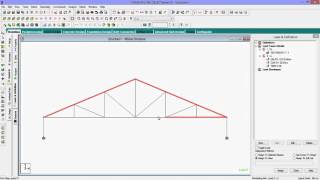 getlinkyoutube.com-Staad Pro Tutorial for Beginners-How To Analyse Frame Truss With Design