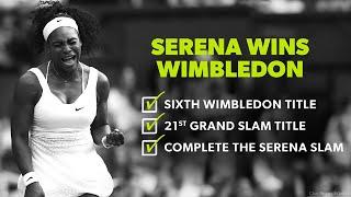 getlinkyoutube.com-ᴴᴰAll 21 of Serena Williams Grand Slams*Titles*Winning Momentsᴴᴰ!