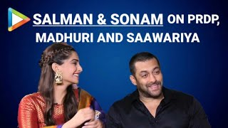 getlinkyoutube.com-Salman Khan | Sonam Kapoor | Prem Ratan Dhan Payo | Full Interview | Madhuri Dixit | Bhansali