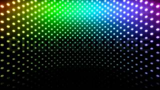 getlinkyoutube.com-Stock Footage : LED Light wall neon disco flash Cb1 BTR