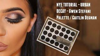 getlinkyoutube.com-NYE TUTORIAL - URBAN DECAY - Gwen Stefani Palette / Caitlin Degnan