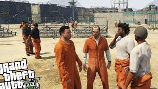getlinkyoutube.com-GTA 5 PC - Prison Break Mod! (Planning The Epic Prison Escape) Grand Theft Auto 5 Prison Gameplay