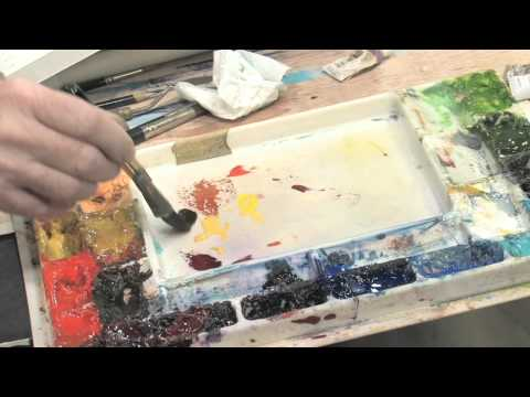 How to Paint a Colorful Fall Tree Using Watercolors