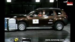 getlinkyoutube.com-EuroNCAP-Crashtests: BMW X1, Dacia Duster, Nissan Juke und mehr