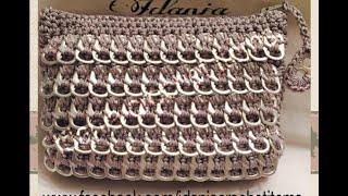 "getlinkyoutube.com-DIY:""Bolso Plateado"" hecho con anillos de lata"