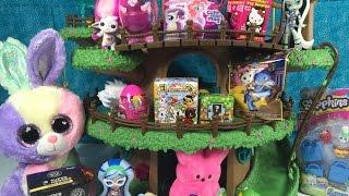 Shopkins Zelfs Tokidoki MLP PlayDoh Surprise Egg Minecraft Blind Bag Treehouse Unboxing