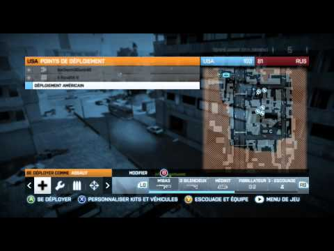 BF3 Match XF Vs Gold Guns / Partie 2 [HD]