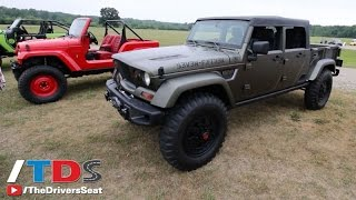 getlinkyoutube.com-Jeep Comanche & Crew Chief Concept PickUp Trucks - Is the market ready for another truck?