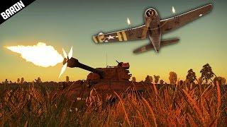 getlinkyoutube.com-HOLY HELLCAT, F6F-5N CannonCat & M18 War Thunder Gameplay