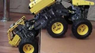 getlinkyoutube.com-Lego pojazd 6x6 offroad r/c