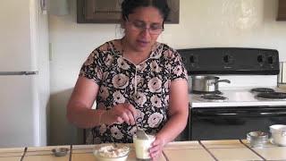 getlinkyoutube.com-Instant Badam Milk Powder | Home Made Badam (Almond) Milk Powder