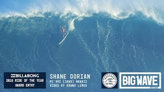 getlinkyoutube.com-Shane Dorian at Jaws 1 - 2016 Billabong Ride of the Year Entry - WSL Big Wave Awards