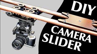 getlinkyoutube.com-How to Make a Professional Camera Slider (100% DIY!)