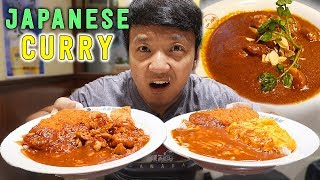 BEST Japanese CURRY! Curry Tour in Tokyo Japan! width=