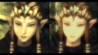 getlinkyoutube.com-Twilight Princess HD (Wii U vs Wii) & Some GameCube!!