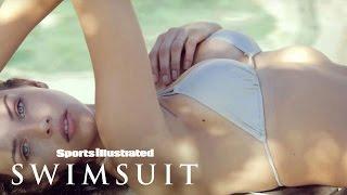 getlinkyoutube.com-Georgia Fowler SI Swimsuit 2016 Casting Call | Sports Illustrated Swimsuit