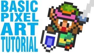getlinkyoutube.com-Basic Pixel Art Tutorial: Zarting Arting