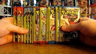 getlinkyoutube.com-20 Pokemon Booster Pack Opening