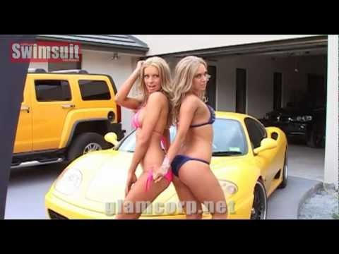 Marta Dabrowski & Koa Whelan double shoot - Australian Swimsuit Calendar