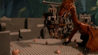 getlinkyoutube.com-LEGO The Hobbit: Smaug Awakens