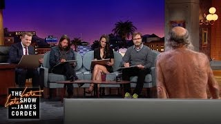getlinkyoutube.com-Nude Model Sketching with Jordana Brewster, Dave Grohl and Rainn Wilson