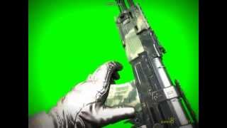 getlinkyoutube.com-Modern Warfare 2 - AK47 - Green Screen