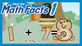 getlinkyoutube.com-Meet the Math Facts Level 1 - 1+7=8