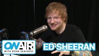 getlinkyoutube.com-Ed Sheeran On Victoria's Secret Fashion Show  | On Air with Ryan Seacrest