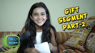 getlinkyoutube.com-Roshni Walia Fans Gift Segment Part - 2
