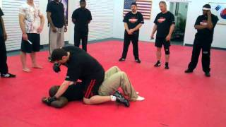 Krav Maga NJ Knife Techniques with  Shock Knives