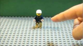 getlinkyoutube.com-LEGO Tutorial: How to make a Lego minifigure(dude) jump in a stop motion video