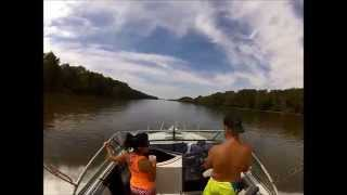 getlinkyoutube.com-Timelapse Boat trip down the Illinois River Morris IL 9-27-2014
