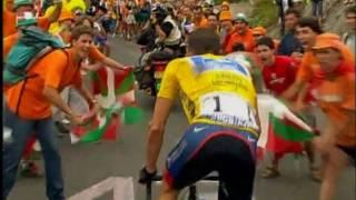 getlinkyoutube.com-Lance Armstrong 2003 TDF - The Ascent of Luz Ardiden