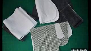 getlinkyoutube.com-Стильная джинсовая сумка своими руками