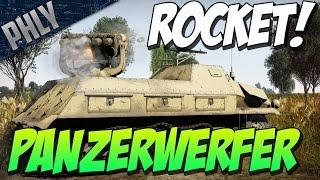 getlinkyoutube.com-RUSSIAN ILLUMINATI - War Thunder TANKS! Panzerwerfer 42 Gameplay