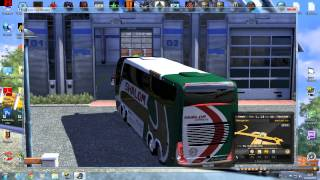 getlinkyoutube.com-Euro Trucks Simulator 2 Thailand  วิธีลง Mod bus