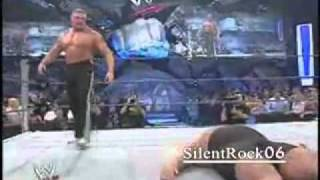 getlinkyoutube.com-Brock Lesnar Saves Rey Mysterio _ Attacks Big Show