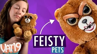 getlinkyoutube.com-Feisty Pets: Sweet-to-Scary Stuffed Animals