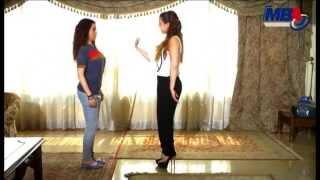 getlinkyoutube.com-اتفرج على تعليم كندة علوش لمى عزالدين #المشى_الرقص_الاكل فى مشهد يموت من الضحك