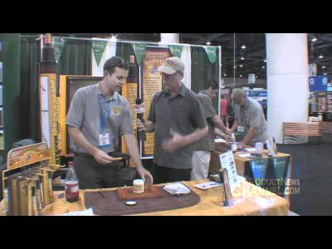 Tool Review Perfect Match Stain Marker At AWFS Woodworking Show With Billy Carmen