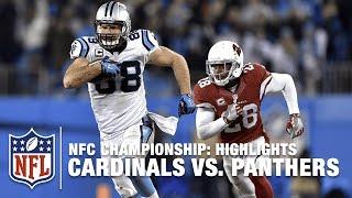 getlinkyoutube.com-Cardinals vs. Panthers | NFC Championship Highlights | NFL