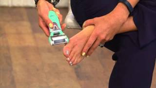 getlinkyoutube.com-Emjoi Micro-Pedi Callus Remover w/ Replacement Rollers with Kerstin Lindquist